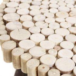 masuta cafea lemn recuperat cork