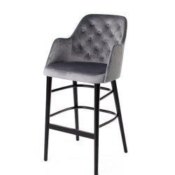 scaun bar catifea