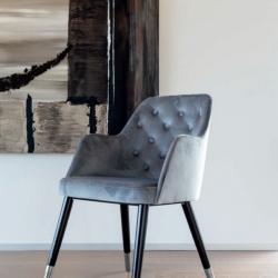 scaun catifea sufragerie