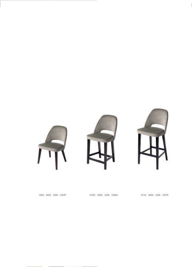 scaune catifea