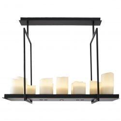 candelabru modern negru