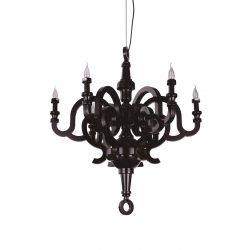 candelabru negru clasic