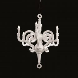 candelabru alb