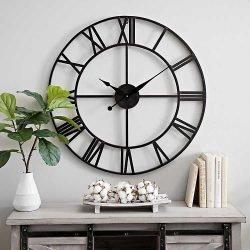 ceas perete metalic