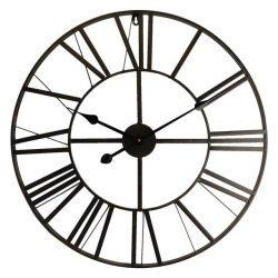 ceas perete negru