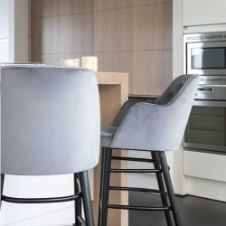 scaune catifea sufragerie